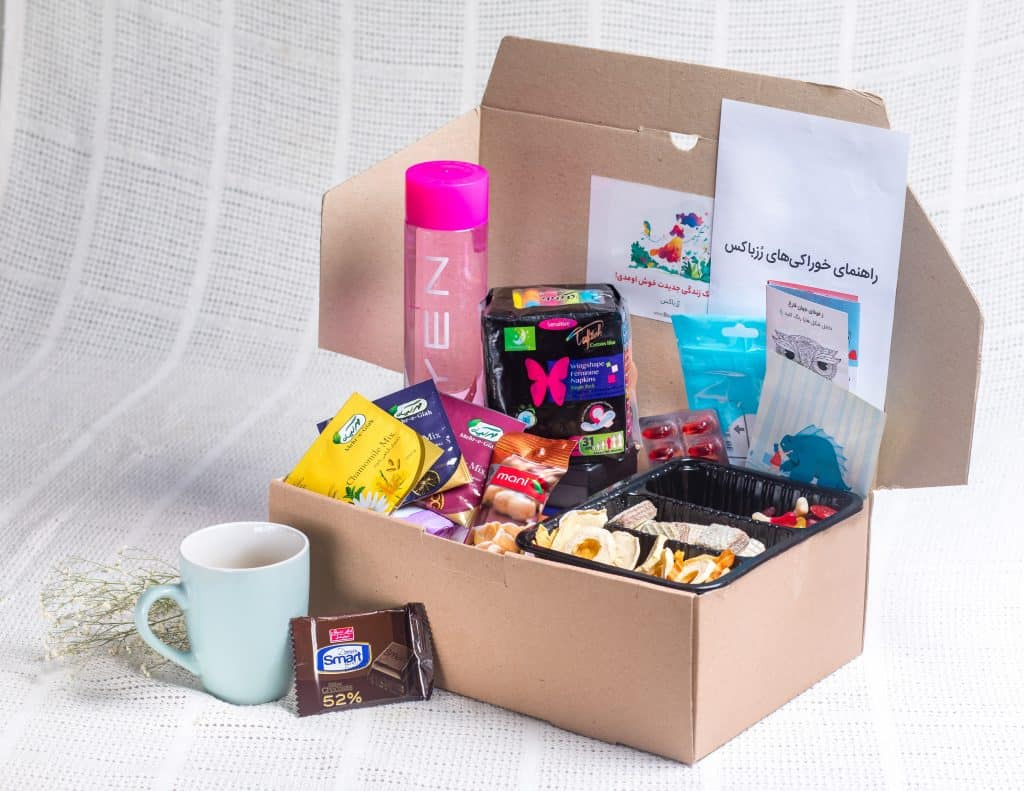 subscription box full of goodies