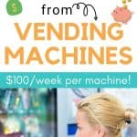 How to Make Passive Income from Vending Machines