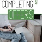 How to Make Money Completing Offers