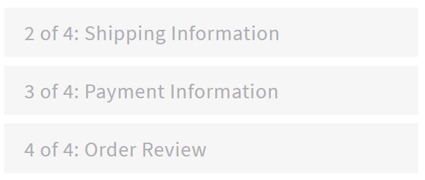 10. Add Shipping, Payment Info and Review