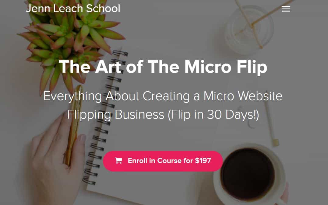 The art of the microflip