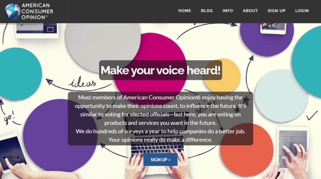 ACOP home page