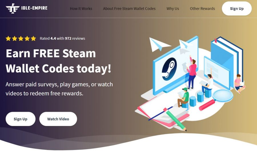 Idle-Empire free Steam Codes screenshot