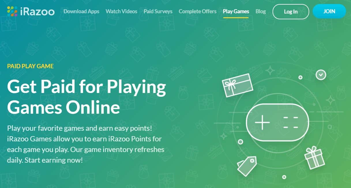 play IRazoo games for real money