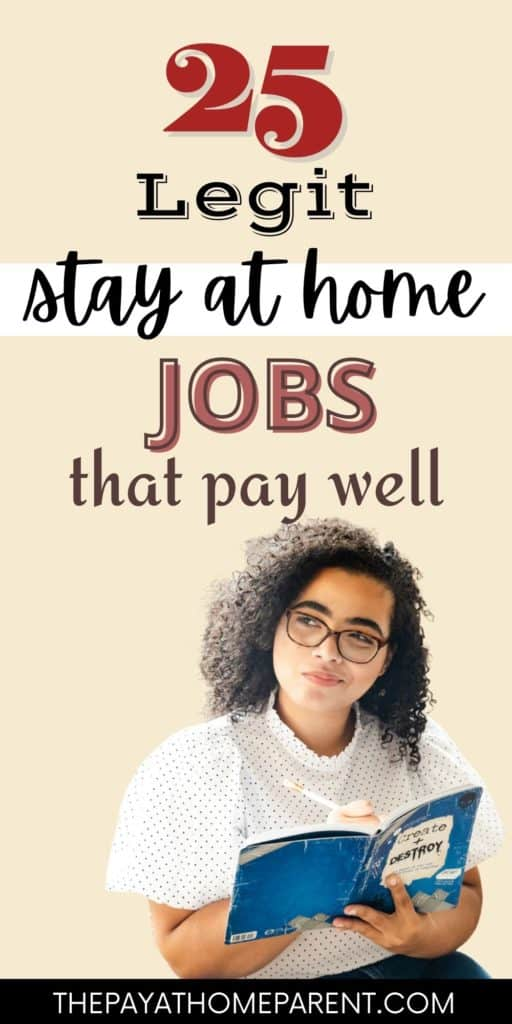 25 Stay At Home Jobs